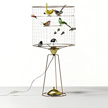 La Voliere Bird Cage Table Lamp Haute Tall By Mathieu Challieres