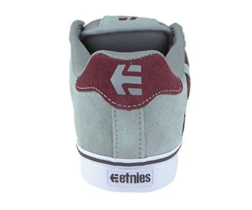 ETNIES scarpa FADER VULC SMU GREY/RED/WHITE (US 11)