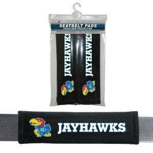 - Fremont Die Kansas Jayhawks Velour Seat Belt Pads