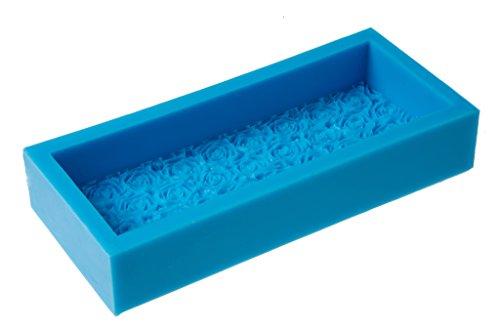 Rectangular Blue Resin - 3