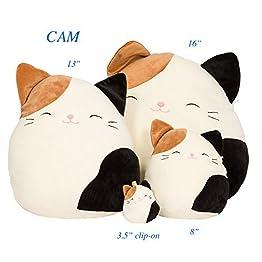 Squishmallow Cat Pillow Plush 8
