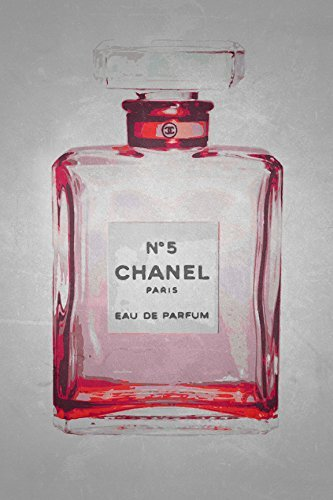 Buyartforless Chanel No. 5 in Ruby Red 24x36 Poster Art Prin