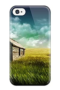 For Iphone 4/4s PC Phone Case Cover(photography)