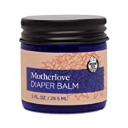 Motherlove - Diaper Balm, Antifungal & Antibacterial Herbs, Soothes Baby's Irritated Bottom, Cloth Diaper Safe Ointment, Free of Zinc Oxide & Petroleum, Formerly Known as Diaper Rash & Thrush, 1 oz.