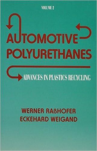 Advances in Plastics: Automotive Polyurethanes, Volume II (Advances in Plastics Recycling: Recycling of Polyurethanes)