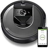 ルンバ i7 アイロボット 最新 ロボット掃除機 水洗いできるダストボックス wifi対応 スマートマッピング 自動充電・運転再開 吸引力 カーペット 畳 i715060【Alexa対応】