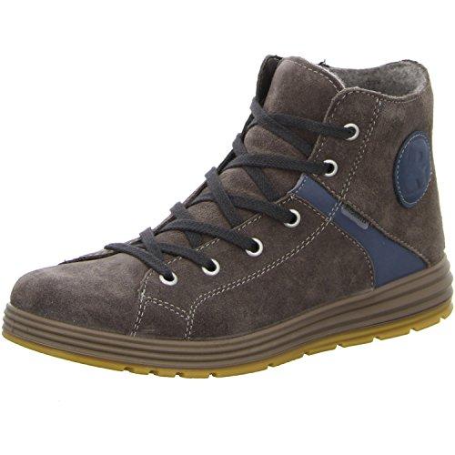 Ricosta Jan - zapatillas deportivas altas de piel niños Grigio (grigio)