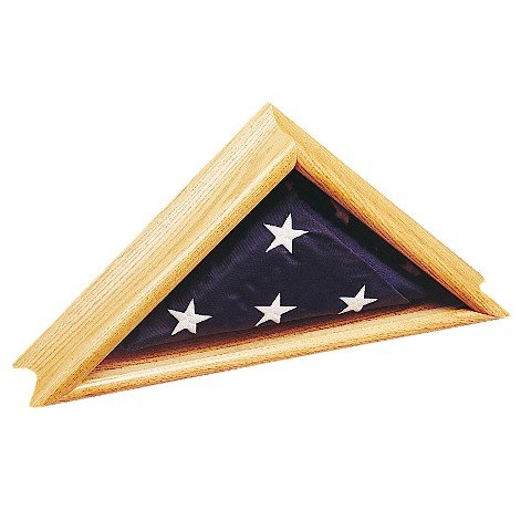 Deluxe Oak Case for Flags- 24