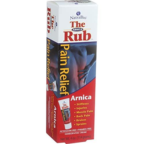 Natrabio The Arnica Rub Original Cream, 4 Fluid Ounce