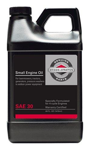 Briggs % Stratton 30w engine oil