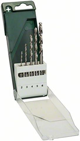 Bosch 2 609 255 127 - Juego de 5 brocas para metal HSS-G con vástago de inserción hexagonal: Amazon.es: Bricolaje y herramientas
