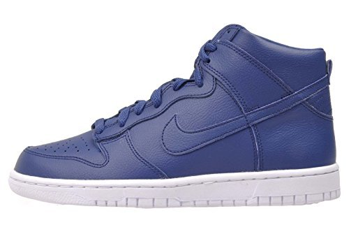 Nike Boys Dunk High (GS) Coastal Blue Sneakers (6) by NIKE (Image #1)