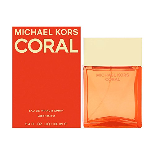 Michael Kors Coral Women s Eau de Parfum Spray, 3.4 Ounce