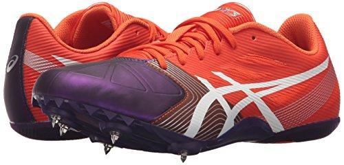 ASICS Women's Hyper-Rocketgirl SP 6 Cross Country Spike Shoe, Orange/White/Dark Purple, 9 M US by ASICS (Image #6)