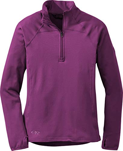 Outdoor Research Women's Radiant LT Zip Top, Orchid, Medium by Outdoor Research