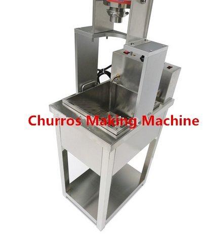 3L Manual español Churros Panificadora capacidad comercial Deluxe acero inoxidable 3L churro eléctrica con 20L freidora eléctrica de 220 V - 240 V: ...