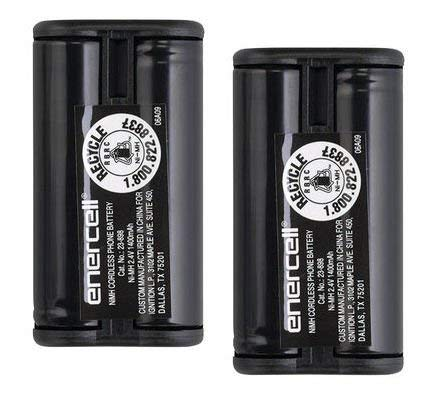 Enercell 2.4V/1400MaH NI-MH Cordless Phone Battery - Bulk Lot of 2 by Enercell