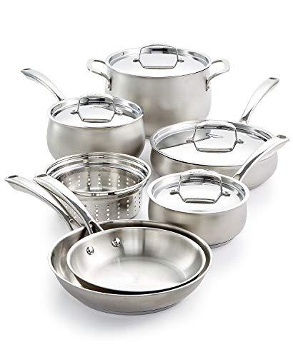 Belgique Hard Anodized 11 Piece Cookware Set ()