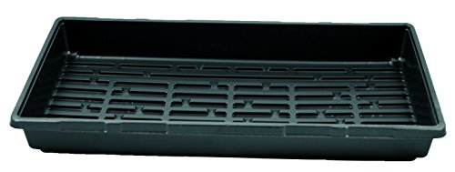 1020 Greenhouse Trays (No Holes) - Growing - Plant - Germination - Seed Tray - One Case of 100 by Grower's Solution