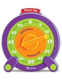 Get 6 Pack LEARNING RESOURCES 60 SECOND JUMBO TIMER deliver
