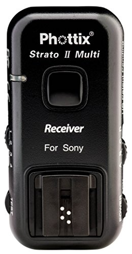 Phottix Strato II Wireless Flash Trigger Multi 5-In-1 for Sony - Receiver (PH15658) from Phottix
