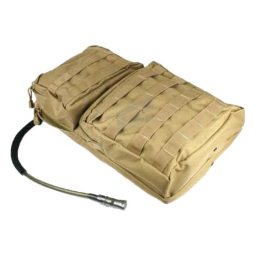 Condor HCB2 Tactical Hydration Carrier MOLLE Day Pack with Bladder - Coyote Tan by Condor Outdoor