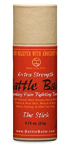 Battle Balm Stick - Extra Strength - Natural - Pain Stick