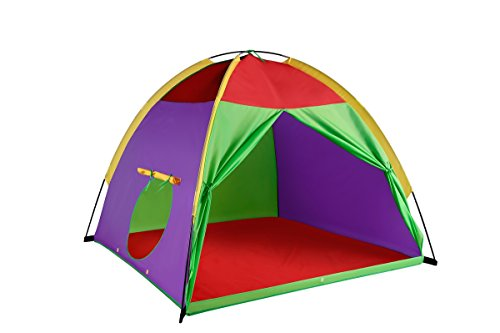 Kids Tents Giant Party Play house Indoor & Outdoor Pop Up Tent Game & Toy For Gift For Children by Alvantor 58″x58″x47″