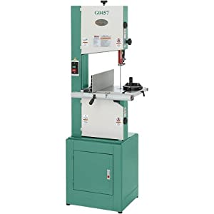 Grizzly G0457 Deluxe Bandsaw 14 Inch Power Band Saws