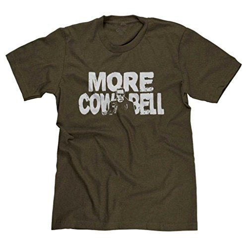 FreshRags More Cowbell Saturday Night Live Men's T-shirt Heather Brown XL