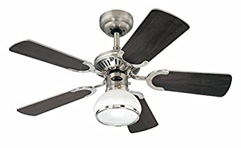 Westinghouse Princess Radiance II Ceiling Fan - Dark Pewter/Chrome Westinghouse Lighting 7241540