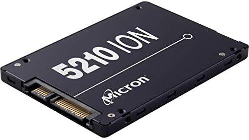 Micron 5210 Ion SSD | MTFDDAK7T6QDE | 7.68TB | Qlc | SATA 6GB/S | 2.5-Inch Enterprise Solid State Drive