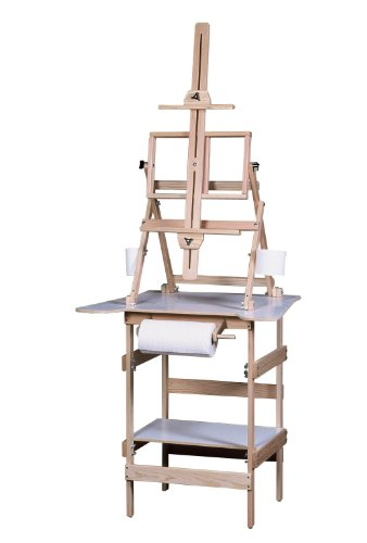 American Easel Deluxe Paint Station-Natural Fir by American Easel, LLC.