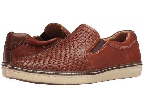 Johnston & Murphy(ジョーンストンアンドマーフィー) メンズ 男性用 シューズ 靴 スニーカー 運動靴 McGuffey Slip-On - Tan Full Grain [並行輸入品] B07BM8ZS2P