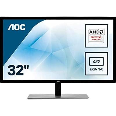 AOC 32  Q3279VWF QUAD VGA DVI HDMI Display Port Monitor