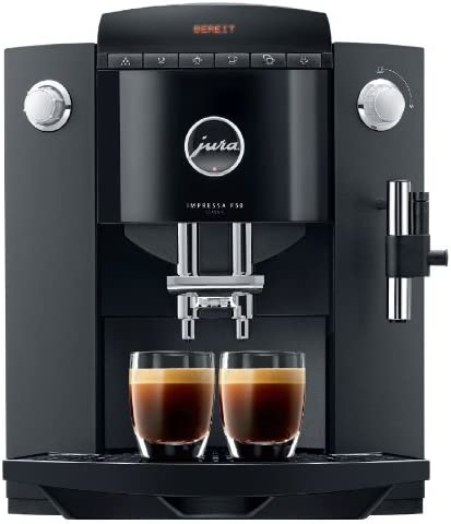 Jura Impressa F50 - Cafetera automática, 1450 W, color negro ...