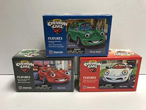 The Chevron Cars Complete Set with Tony Turbo, Sam Sedan and Wendy Wagon ()
