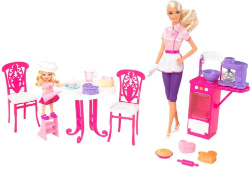Barbie I Can Be... Sweet Chef with Barbie and Kelly Dolls