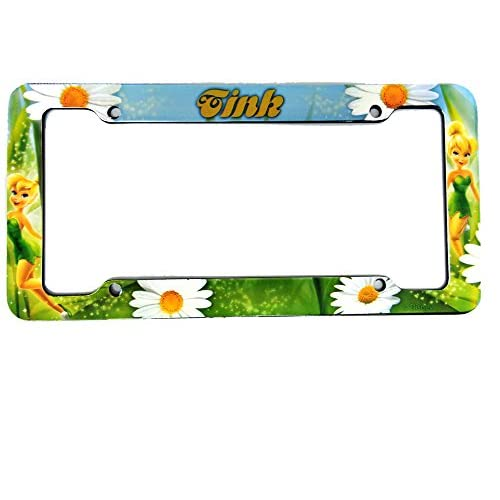 lovely Plastic License Plate Frame With Disney Fairies Design ...