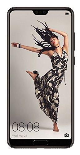 Caso de protección cubierta del tirón para Huawei P20 Pro Single-SIM, negro | estilo del libro cartera cubierta delgada - K-S-Trade (TM)