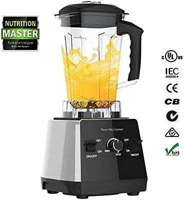 Picadora Electrica de Alimentos, Robot de Cocina Multifunción con Engranajes Múltiples, Taza de Mezcla de 1.75L Tritan, 33000r / min, Ideal para Romper Paredes, Moler Carne: Amazon.es: Hogar