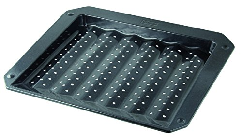 Zenker 7206 Grill- und Ofenblech, Emaille 380 x 330 x 30 mm, special cooking