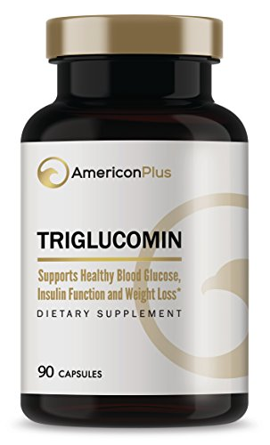 Blood Sugar Lowering Supplement: Chromium, Vanadium, Gymnema Sylvestre, Alpha Lipoic Acid, Cinnamon, Other Blood Sugar Control Ingredients | Triglucomin Blood Sugar Stabilizer | 90 Veg Caps (Best Cinnamon To Lower Blood Sugar)