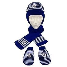 Toronto Maple Leafs Toddler 3 piece Toque Scarf and Mitt Set