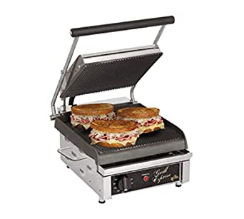 Amazon.com: Star gx10ig Grill Parrilla Grooved de hierro ...