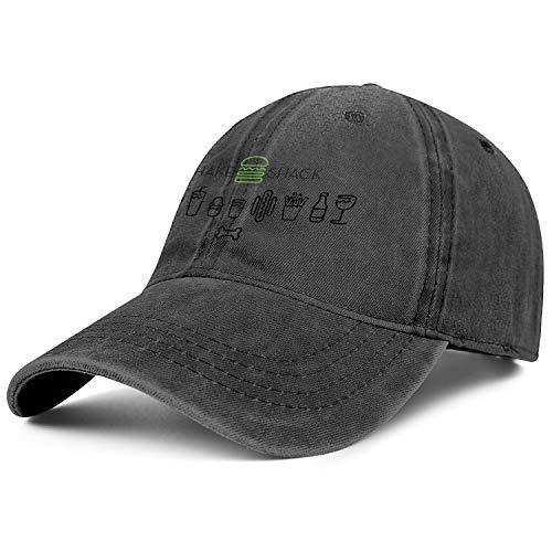 Shake Shack Cowboys Cap Fit Unconstructed Plain Flat Hats Men Women