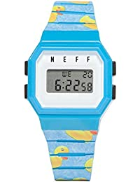 Automatic Plastic and Polyurethane Sport Watch, Color:Blue (Model: CYDWNF0252)