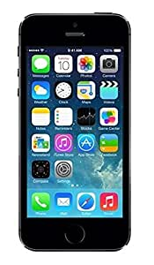 "Apple iPhone 5S - Smartphone libre iOS (pantalla 4"", cámara 8 Mp, 16 GB, Dual-Core 1.3 GHz, 1 GB RAM), negro"