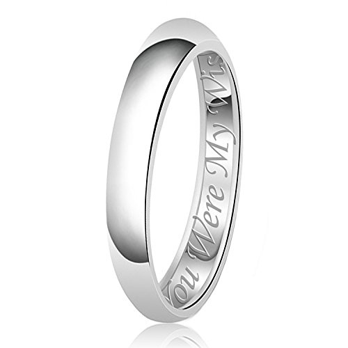 Sterling Silver Message Ring - 8
