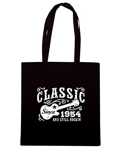 OLDENG00445 CLASSIC Nera 1954 Borsa SINCE Shopper qtExc5AwH
